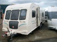 Bailey Olympus 4 berth touring caravan