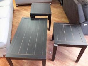 *** NEW *** ASHLEY BIRSTROM COFFEE/END TABLES   S/N:51273119   #STORE909