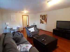 Two Bedroom Basement Suite for Rent near University and Whyte
