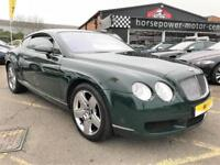 2005 Bentley Continental 6.0 GT 2dr Petrol green Automatic