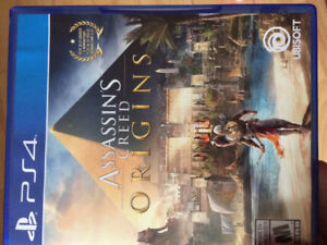 Assassin creed ps4