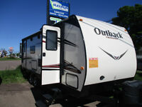 2014 Outback Terrain 250TRS 27 FT with 2 slides