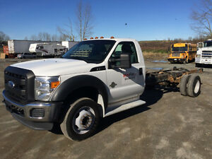 2011 Ford F550 Cab and Chassis