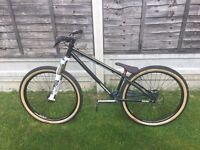 "Nukeproof solum 26"" dirt jump bike cost £2100 very very high spec"