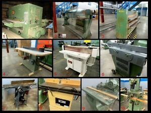 Woodworking Used Machinery | business, industrial | Calgary | Kijiji