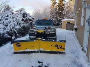 2006 Chevrolet Silverado 2500 HD Pickup Truck with Plow