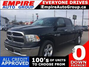 2016 RAM 1500 SLT * 4WD * BLUETOOTH * LOW KM