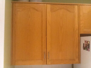 "Looking to buy 30"" wide oak cabinets for my kitchen"
