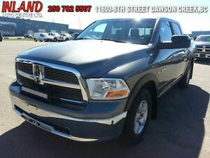 2012 Ram 1500 SLT  Auto,Light Bar,Crew Cab,Tonneau Cover,Short B