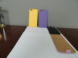 Three iPhone 6S Plus flip cell phone cases