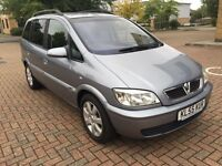 2005 Vauxhall Zafira 1.6 Breeze Manual! 7 seater! Brand new mot!!