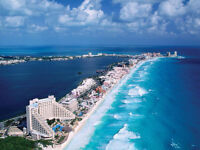 Cancun Mexico 7days/6nights all inclusive for 2 adults & 2 kids