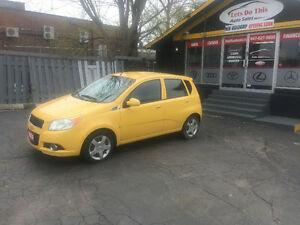 2009 Chevrolet Aveo LS no accident certified ONE OWNER LOW KM