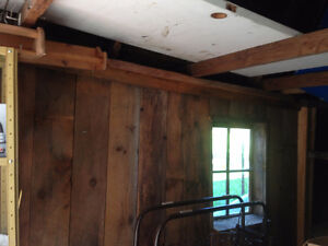 Barn Boards at $4.00 per sq. foot