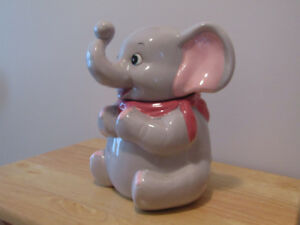 ELEPHANT  COOKIE  JAR