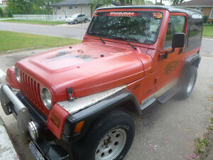 1997 Jeep TJ 4cyl 5 speed manual