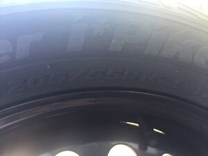 Brand New Hankook Winter Tires On Rims 205/55R16 Kitchener / Waterloo Kitchener Area image 5