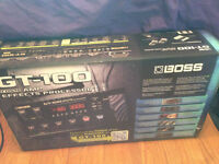 BOSS GT100 Multi Effects Pedal