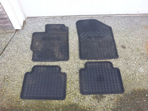2006 - 2011 Toyota Yaris F&R Genuine Toyota Rubber Floor Mats