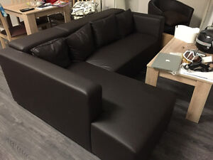 Almost new - Love seat sofa