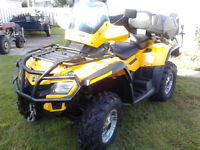 CAN-AM OUTLANDER 800 MAX /XT, 2011, FULL ÉQUIPE.