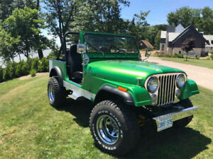 1978 Jeep CJ7 - Over 25K Invested. Best Summer Vehicle EVER.