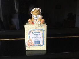 Cherished teddies various boxed and in mint condition