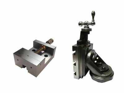 Lathe Vertical Milling Slide - Swivel Base 4 X 5 With Grinding Vice 88mm