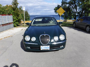 2004 Jaguar S-TYPE Beige Sedan
