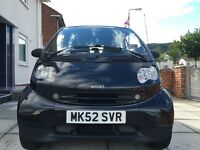 2003 semi-au smart coupe petrol - low miles -