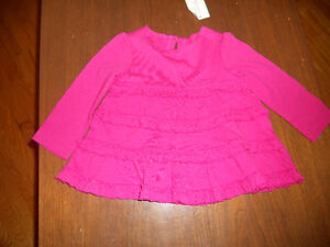NWT First Impressions Pink Ruffle Top 6-9months Kitchener / Waterloo Kitchener Area image 1
