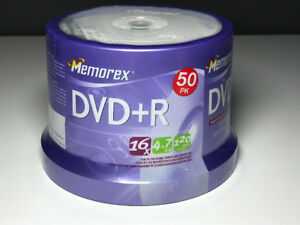 Memorex DVD+R 50 pack brand new