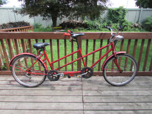 VINTAGE HUFFY TANDEM BICYCLE