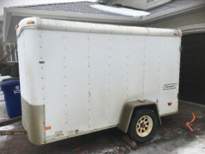 2007 HAUL MARK IND 6X10 Enclosed Trailer
