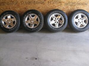 GMC tires and rims