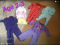 Bundle girls age 2/3