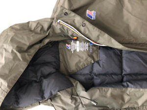 Large Men's K-Way Down Jacket