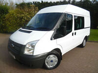 2013 Ford Transit T280 MWB MEDIUM ROOF 6 SEAT CREW VAN 2.2TDCi 125PS