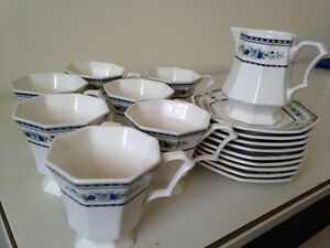 Nikko classic collection-cups and saucers-made in Japan