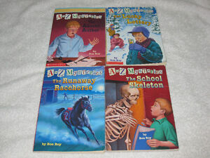 A TO Z MYSTERIES - CHAPTERBOOKS - CHECK IT OUT!