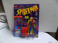 Spiderman and Villans action figures new in package