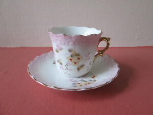 DEMI TASSE WITH SCALLOPED EDGE