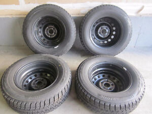 4 Winter tires: 235/65R16 Bridgestone Blizzak WS 80 103T Kitchener / Waterloo Kitchener Area image 2