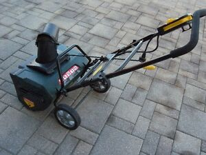 Electric Snow blower - like new