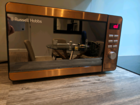 Russell Hobbs copper gold microwave, perfect condition
