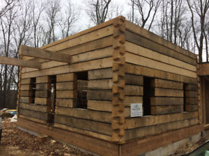 Dovetail Log Cabin for Sale. We ship anywhere in Canada.