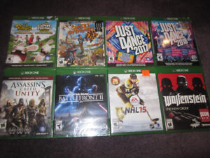 XBox One Game Selection A - NEW - Check Price List Below