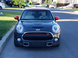 Mini Cooper S 2014 JCW, CUIR, PARK ASSIST, HEADS UP DISPLAY