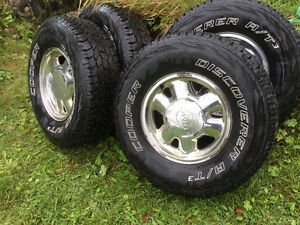 Gmc/Chevy 6bolt truck wheels/tires