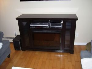 Electric Fireplace/ Media Stand